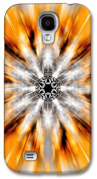 Flower Grid Sixty-three Galaxy S4 Case by Derek Gedney