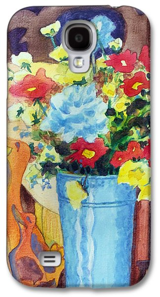 Flower In The Dell Galaxy S4 Case by Kathy Braud