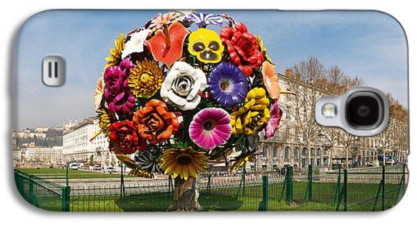 Flower Tree Sculpture At Place Antonin Galaxy S4 Case
