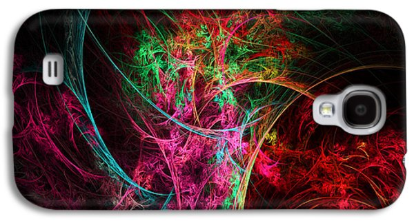 Flowerful Vase Galaxy S4 Case by Lourry Legarde