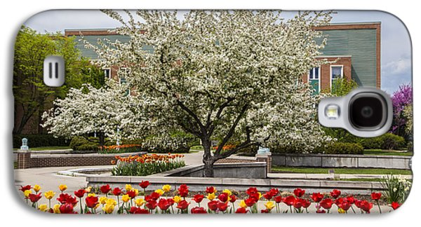 Flowers And Tree At Michigan State University  Galaxy S4 Case