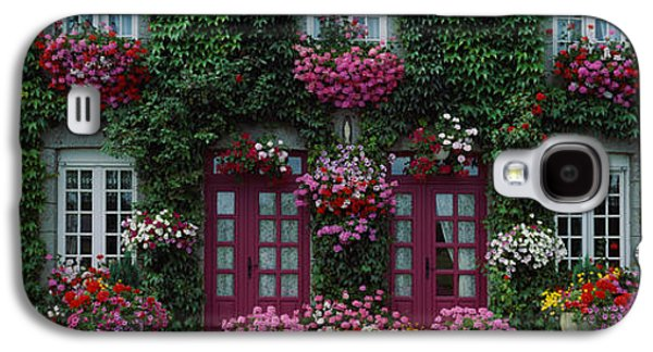 Flowers Breton Home Brittany France Galaxy S4 Case by Panoramic Images