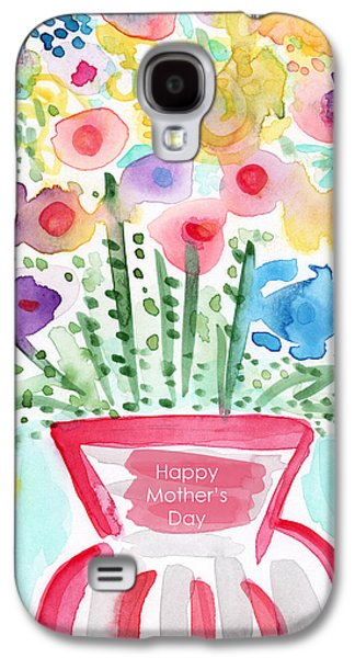 Flowers For Mom- Mother's Day Card Galaxy S4 Case