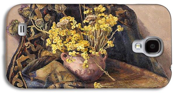 Flowers Immorteles Galaxy S4 Case by Meruzhan Khachatryan