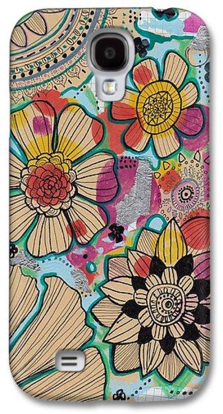 Flowers In The Sky Galaxy S4 Case by Rosalina Bojadschijew