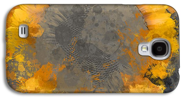Flowersun - 09279gmn22b3ba13a Galaxy S4 Case by Variance Collections