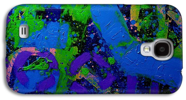 Flux Galaxy S4 Case by John  Nolan