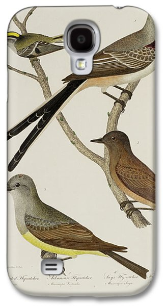 Flycatcher And Wren Galaxy S4 Case by British Library