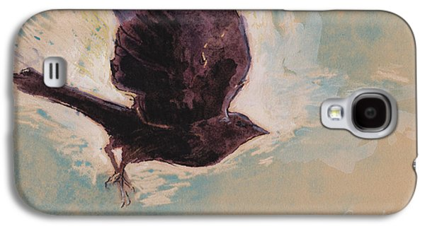 Flying Crow Galaxy S4 Case by Tracie Thompson