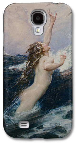 Flying Fish Galaxy S4 Case by Herbert James Draper