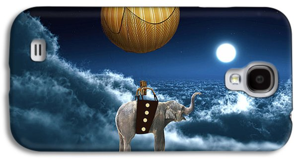 Flying High And On Time Galaxy S4 Case by Marvin Blaine