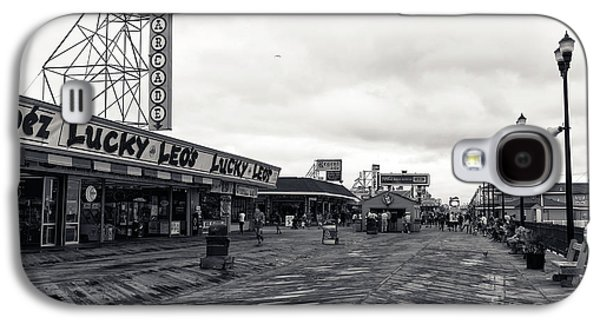 Flying Over The Boardwalk Mono Galaxy S4 Case