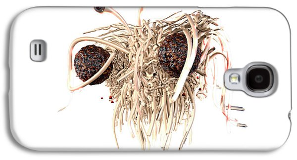 Flying Spaghetti Monster Galaxy S4 Case by Christian Darkin