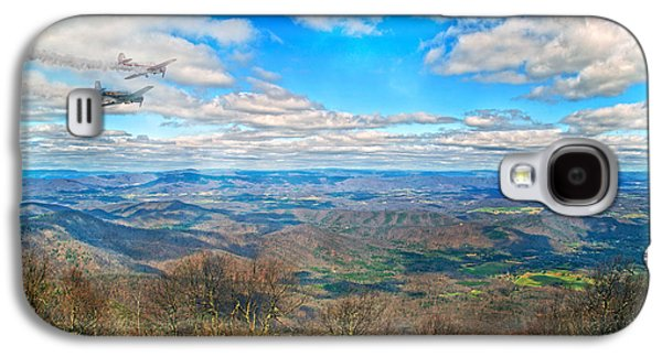 Flying The Sky Blue Ridge Parkway Galaxy S4 Case