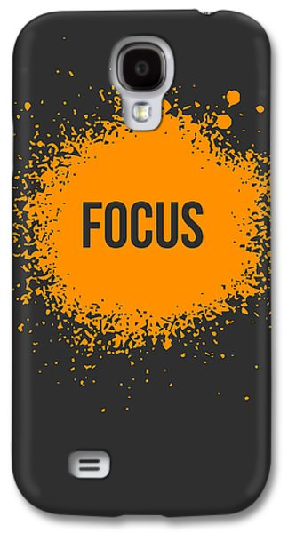 Focus Splatter Poster 3 Galaxy S4 Case