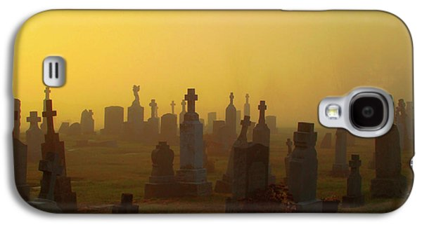 Looks Like Halloween Morning Scene Galaxy S4 Case by Gothicrow Images