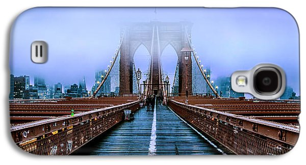 Featured Images Galaxy S4 Case - Fog Over The Brooklyn by Az Jackson