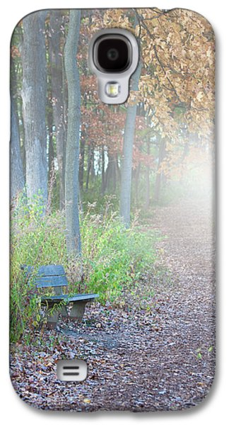 Foggy Autumn Morning Galaxy S4 Case