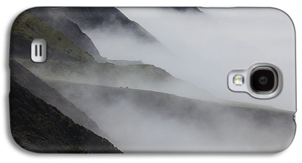 Foggy Coastal Hills Galaxy S4 Case