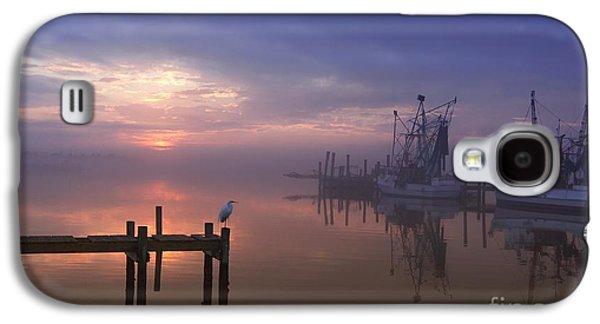 Foggy Sunset Over Swansboro Galaxy S4 Case