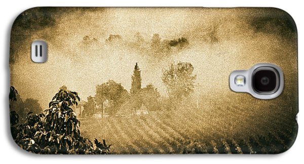 Galaxy S4 Case featuring the photograph Foggy Tuscany by Silvia Ganora