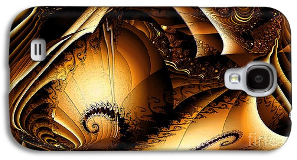 Folds In Time Galaxy S4 Case by Peter R Nicholls