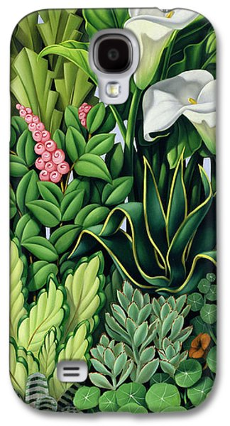 Garden Galaxy S4 Case - Foliage by Catherine Abel