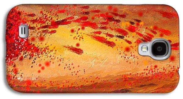 Foliage Impressionist Galaxy S4 Case by Lourry Legarde