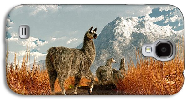 Follow The Llama Galaxy S4 Case