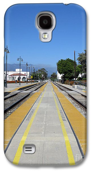 Follow The Yellow Brick Road. Santa Barbara. California. Galaxy S4 Case by Ausra Huntington nee Paulauskaite