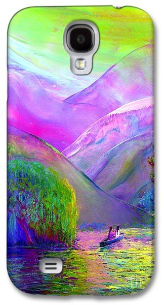 Love Is Following The Flow Together Galaxy S4 Case by Jane Small