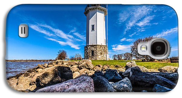 Fond Du Lac Lighthouse Galaxy S4 Case by Randy Scherkenbach