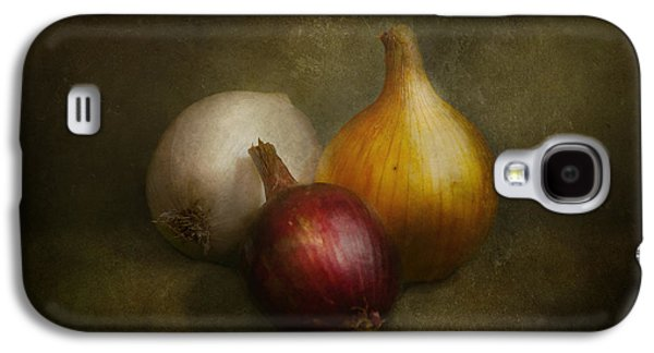 Food - Onions - Onions  Galaxy S4 Case by Mike Savad