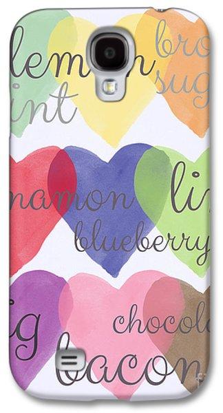 Foodie Love Galaxy S4 Case