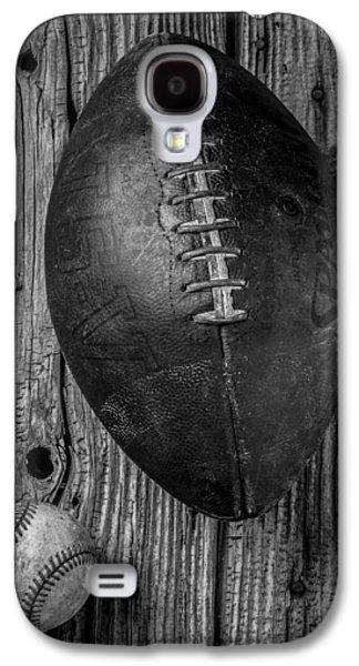 Football And Baseball Galaxy S4 Case