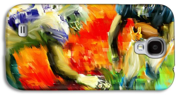 Football IIi Galaxy S4 Case by Lourry Legarde