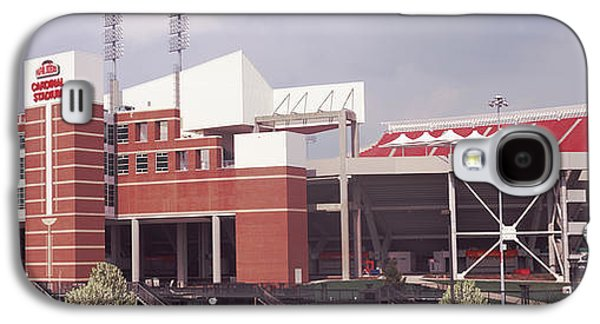 Football Stadium, Papa Johns Cardinal Galaxy S4 Case