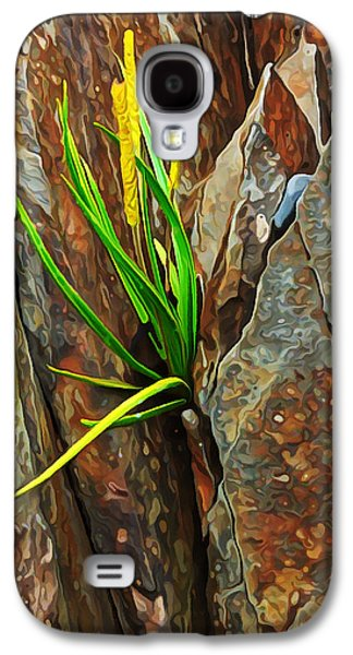 Photo Manipulation Galaxy S4 Cases - Foothold Galaxy S4 Case by Bill Caldwell -        ABeautifulSky Photography