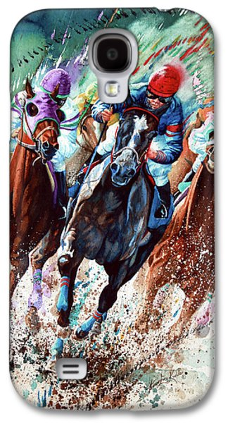 Horse Galaxy S4 Case - For The Roses by Hanne Lore Koehler