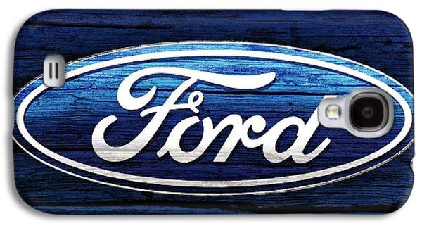 Ford Barn Door Galaxy S4 Case by Dan Sproul