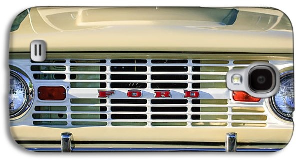 Ford Bronco Grille Emblem -0014c Galaxy S4 Case by Jill Reger