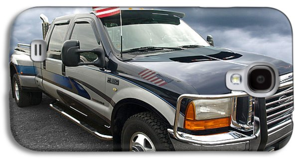 Ford F350 Super Duty Truck Galaxy S4 Case by Gill Billington