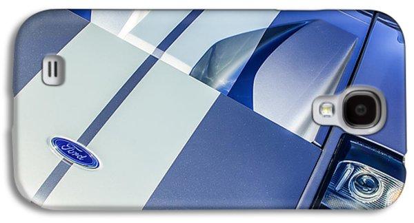 Ford Gt40 Hood Emblem -0305c Galaxy S4 Case by Jill Reger