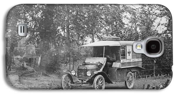 Ford Model T Ambulance Galaxy S4 Case by Library Of Congress