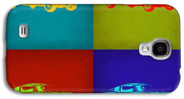 Ford Mustang Pop Art 1 Galaxy S4 Case