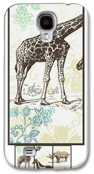 Forest Animals Group Suitable For Hanging Frames Galaxy S4 Case