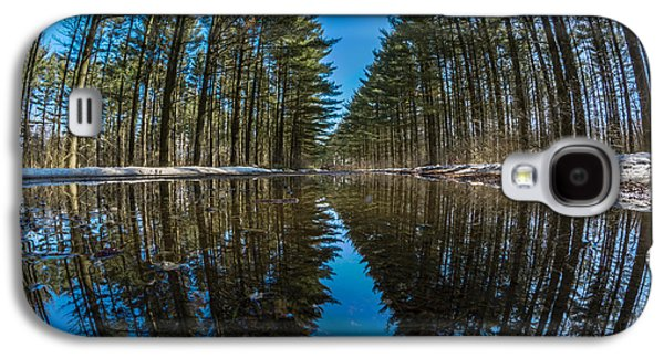 Forest Reflections Galaxy S4 Case by Randy Scherkenbach