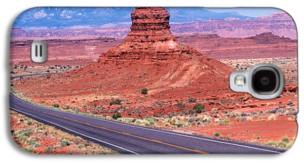 Fork In Road, Red Rocks, Red Rock Galaxy S4 Case by Panoramic Images