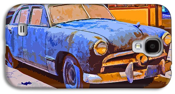 Forlorn 1949 Ford  Galaxy S4 Case by Samuel Sheats