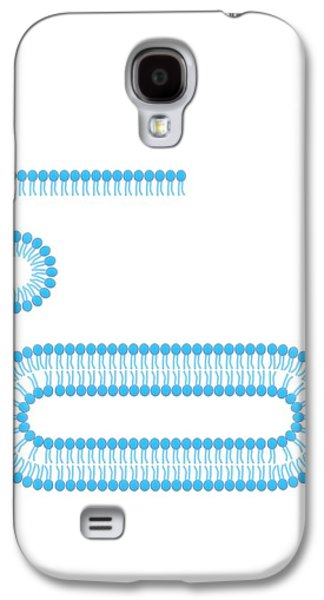 Formation Of Biological Membranes Galaxy S4 Case by Science Photo Library